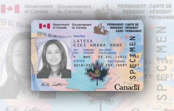 Thẻ thường trú nhân Canada