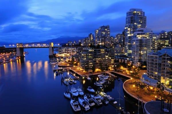 Tỉnh bang British Columbia thu hút rất nhiều người dân đến định cư