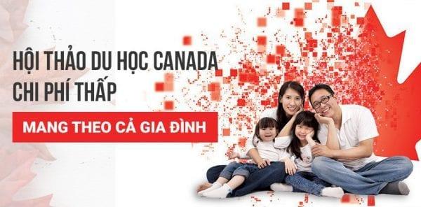 Hội thảo du học Canada mang theo cả gia đình