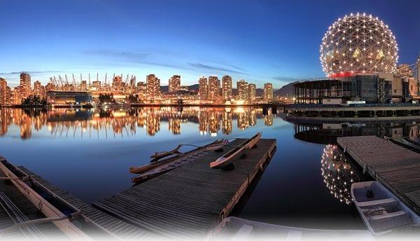 Thành phố Vancouver là thành phố lớn thứ 3 tại quốc gia Canada