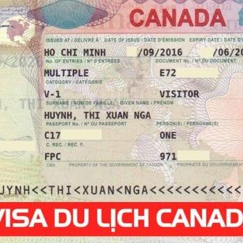 Thời hạn visa du lịch Canada
