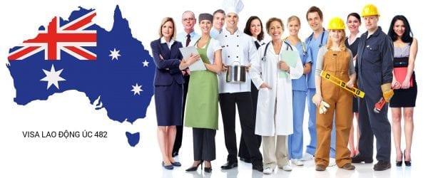 định cư Úc theo diện lao động từ visa 482