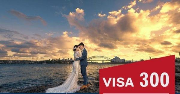 Visa bảo lãnh theo diện đính hôn (visa 300)