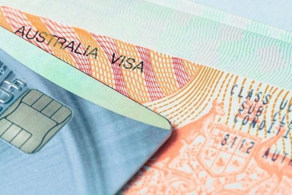 Visa Úc 90