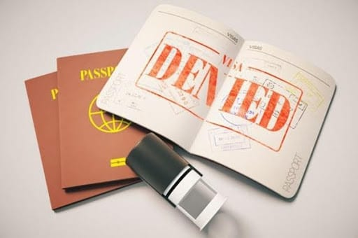 trượt visa đi Canada