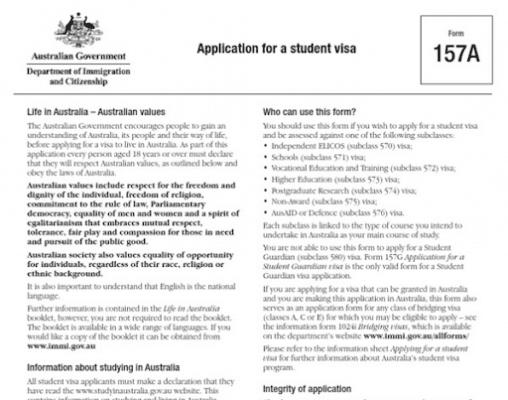 checklist hồ sơ du học úc