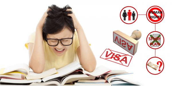 Lưu ý những chú ý trên để tránh tình trạng rớt visa 1 cách đáng tiếc