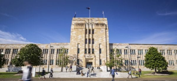 Trường Đại học Queensland là trường chuyên nghiên cứu khoa học hàng đầu tại Úc