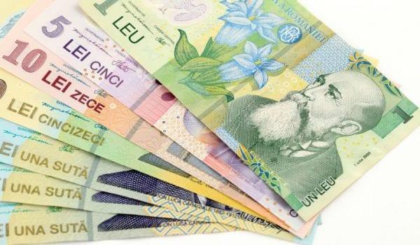 mệnh giá tiền Rumani