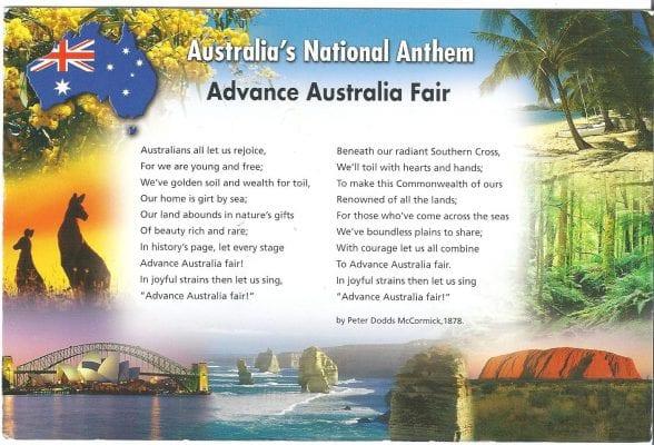 Advanced Australia Fair
