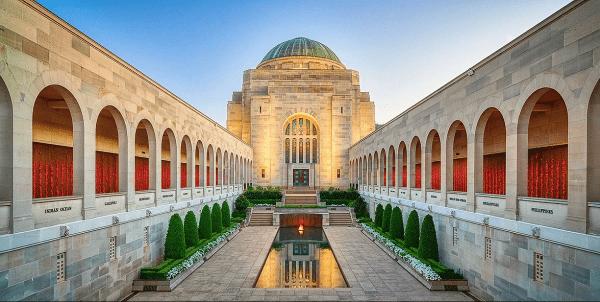 Australian War memorial - Đài tưởng niệm chiến tranh Úc