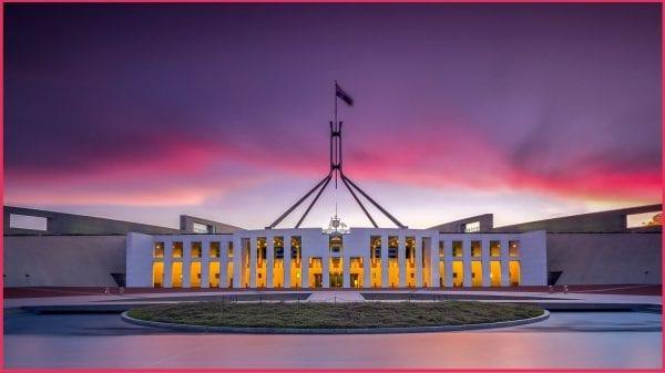 The Parliament House - Tòa nhà Quốc Hội Úc