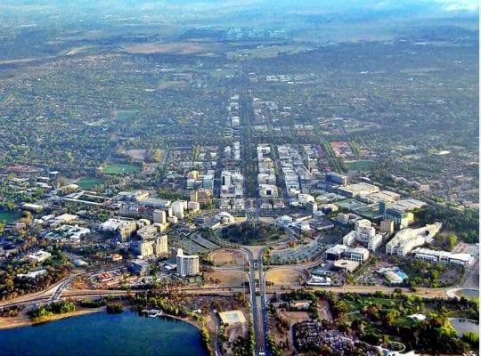 Cảnh quan của thủ đô Canberra nước Úc