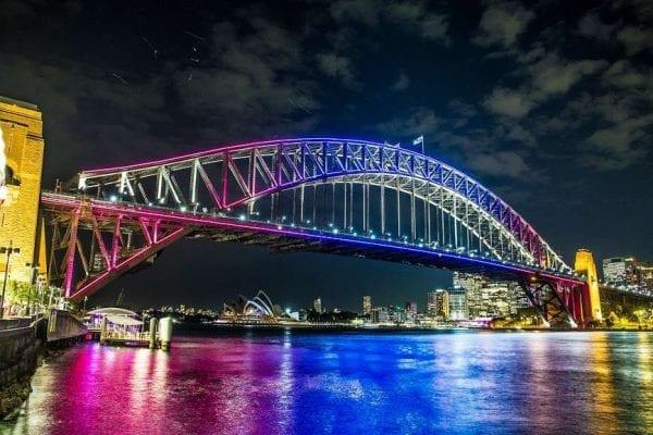 Cầu cảng Sydney, Australia