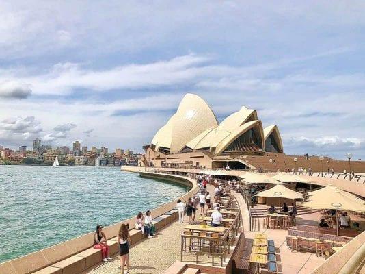 Chi phí đi tour Úc chỉ 1.700.000 VNĐ