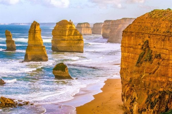 Trong chuyến du lịch Úc bạn đừng quên chạy dọc theo con đường Great Ocean
