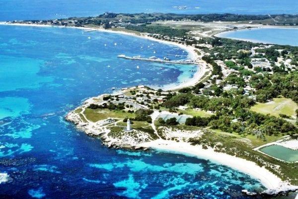 Đảo Rottnest là nơi lý tưởng để cả nhận không khí của biển cả