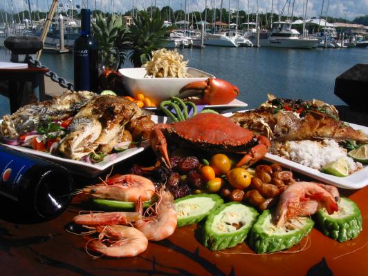 Đến Úc bạn sẽ được thưởng thức những món ngon nhất được chế biến từ nhiều loại hải sản khác nhau