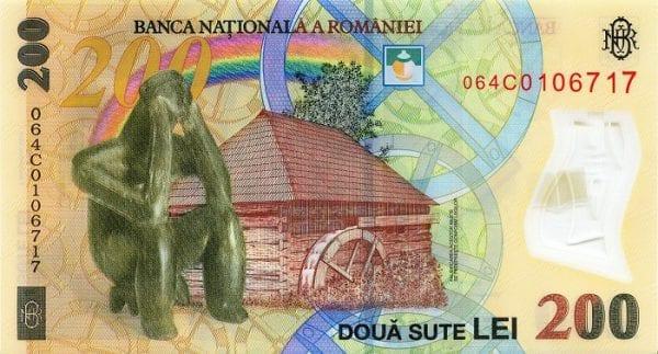 mệnh giá tiền của Rumani'