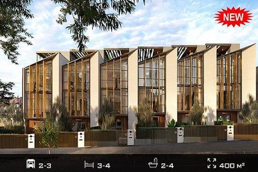 Chapman là dự án nhà phố hiện đại kết hợp với thiên nhiên