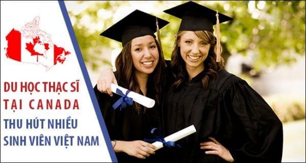 Du học thạc sĩ Canada thu hút nhiều sinh viên Việt Nam
