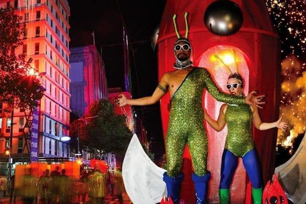 Trung tâm lễ hội Adelaide là nơi diễn ra nhiều hoạt động nghệ thuật đặc sắc của Úc
