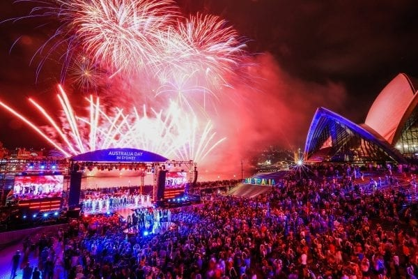 Lễ kỷ niệm ngày Quốc Khánh Úc 26/1 tại Sydney