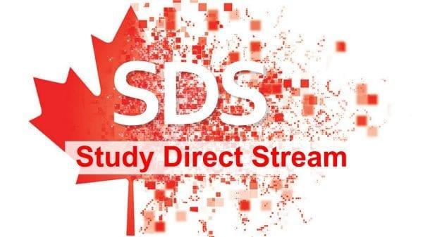 SDS - du học Canada miễn chứng minh tài chính