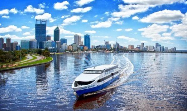 Sông Swan nằm ở phía tây nam của Nam Úc