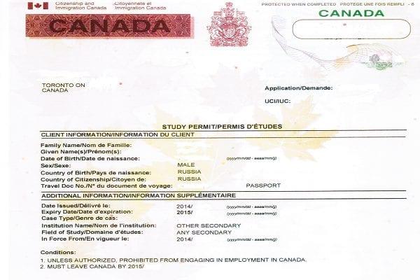 Study Permit là giấy phép học tập hợp pháp tại Canada