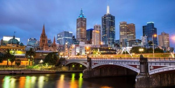 Thành phố xinh đẹp Melbourne
