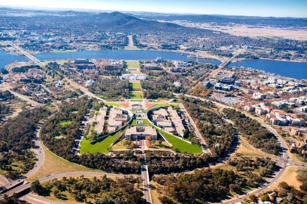 Canberra - thành phố có chỉ số GDP cao nhất cả nước