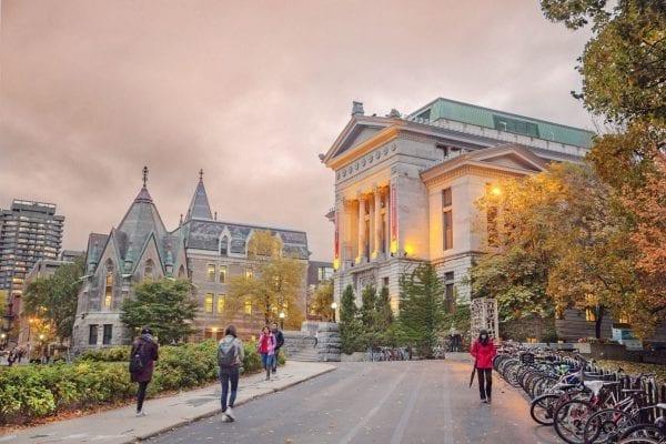 McGill University được ví von là Harvard của Canada