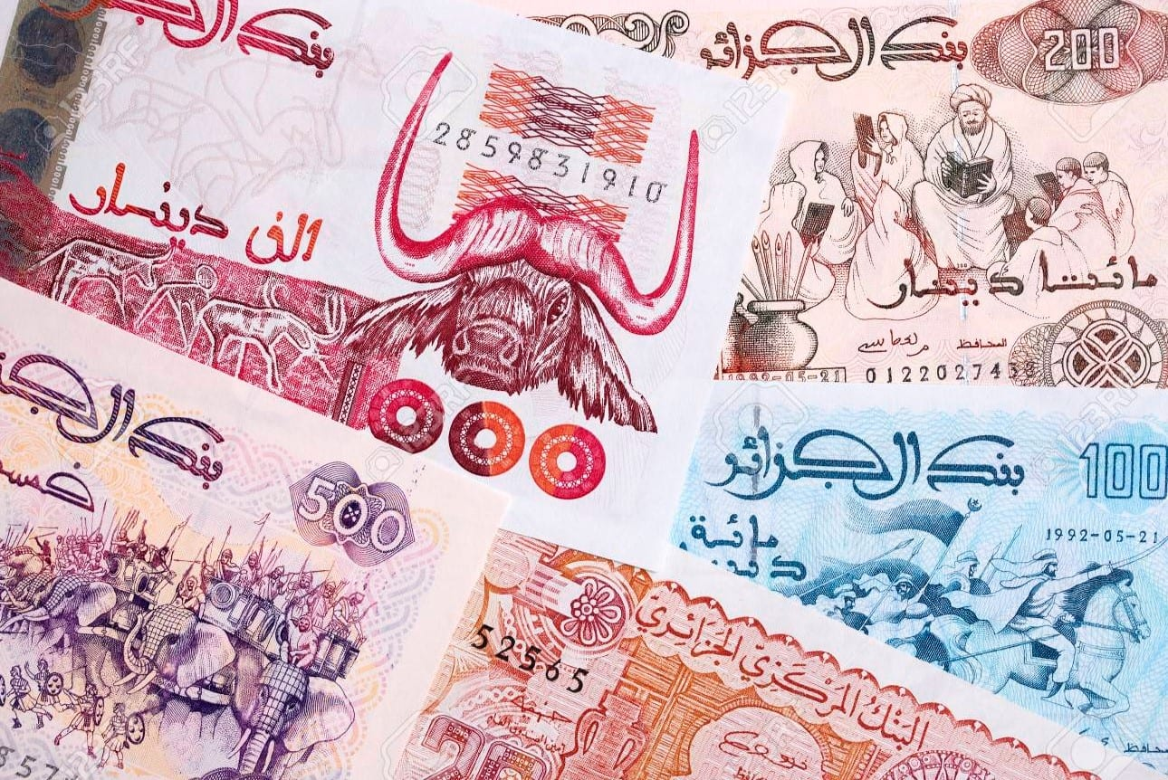 dinar algérie, tiền của algeria, tiền algeria, tiền dinar algeria, đồng tiền algeria, quy đổi tiền algeria