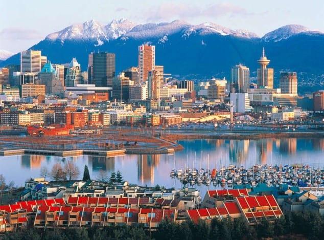 thành phố Canada ưu tiên định cư