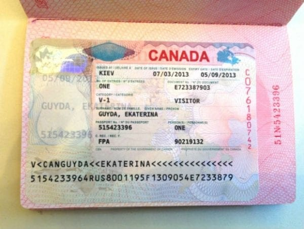 visa công tác canada, xin visa công tác canada