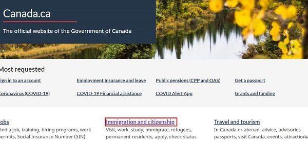 kiểm tra visa canada, cách kiểm tra tình trạng visa canada, kiểm tra tình trạng visa canada