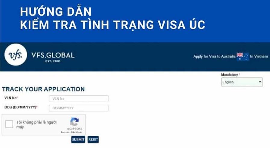 kiểm tra tình trạng visa úc, kiểm tra tình trạng hồ sơ visa úc, cách kiểm tra tình trạng visa úc
