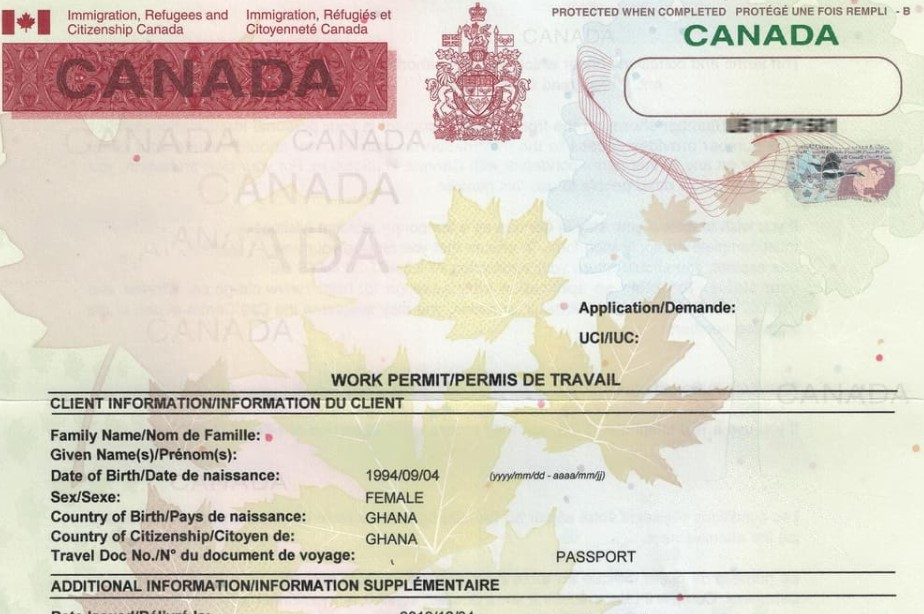 work permit canada, work permit canada visa, work permit canada là gì, work permit canada 2021, xin work permit canada